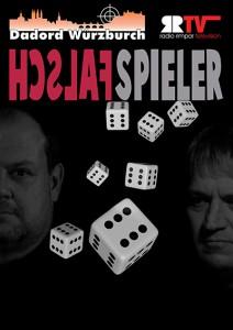 """Dadord Würzburch """"Falschspieler"""" - Kinoplakat"""